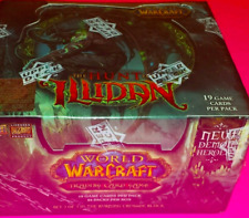 World of Warcraft: The hunt for Illidan TCG Booster Box  24 COUNT  NEW SEALED