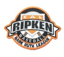 "Cal Ripken Baseball Babe Ruth League Embroidered Patches Iron/Sew On 3.5"" New"