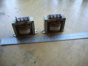 Pair Vintage Valve Output Transformers Single Ended ECL86