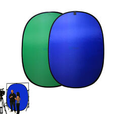 5x7ft Lightweight Collapsible Popup Photo Blue/Green Screen Background Panel