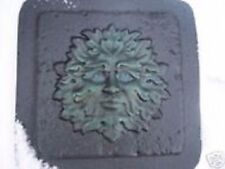 Gostatue MOLD greenman accent  tile abs plastic mold mould