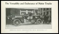 1918 American-LaFrance fire engine truck Middletown NY photo trade print article