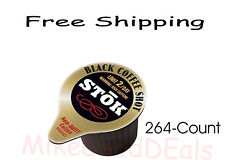 SToK Caffeinated Black Coffee Shots, 264-Count, New - Free shipping ...