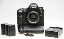 Canon EOS 5D MKIII Body with Grip, 3 Batteries, Original Owner