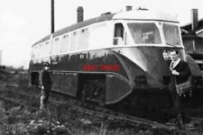 PHOTO  GWR RAILCAR NO.4 DIDCOT. EARLY DAYS OF GWS