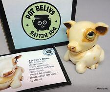 Harmony Ball Pot Bellys Fawn Deer Treasure Box 2001 Spotsie Boxed Card 1 1/2in