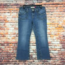 Aeropostale Womens Size 11/12 Short Hailey Skinny Flare Medium Wash Denim Jeans
