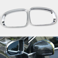 For Volvo XC60 2018 XC90 15-2018 Chrome ABS Door Rearview Mirror Brow Frame Trim