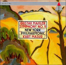 Nyp, Masur, Mahler, Symphony 9, Excellent