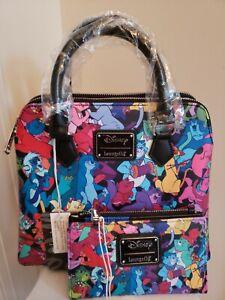 NWT Disney Loungefly Aristocats Jazzy Cats Crossbody Bag & Matching Wallet!