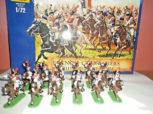 PAINTED SOLDIERS 1/72 20mm - FRENCH CAVALRY - NAPOLEONIC WARS x 12 ZVEZDA