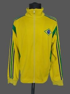 BRASIL Adidas 2005/06 Football World Cup Jacket Soccer BRAZIL Tracksuit SzxL