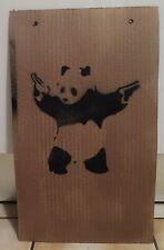 Pochoir Street Art Dismaland Banksy The Panda 23x38cm