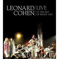 LEONARD COHEN - LIVE AT THE ISLE OF WIGHT 1970 USED - VERY GOOD CD
