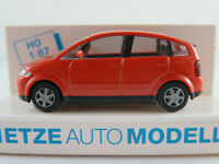 Rietze 21000 Audi A2 (1999-2005) in jaipurrotmetallic 1:87/H0 NEU/OVP