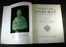 Vintage Carl Faberge His Life & Work HC 2nd Impression 1967 Spring Books London