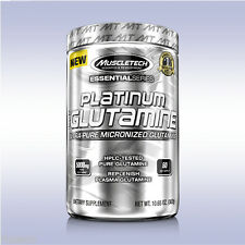 MUSCLETECH PLATINUM 100% GLUTAMINE (60 SERVINGS / 300 GRAMS) unflavored powder