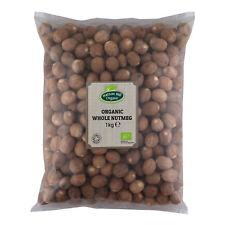 Organic Whole Nutmeg 1kg Certified Organic