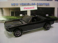 1995 Hot Wheels '65 FORD MUSTANG✿∞LOOSE∞Target BLACK Convertible Special Edition