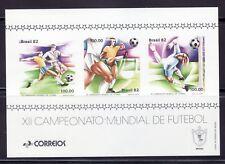SELLOS DEPORTES FUTBOL BRASIL HB 47 XII CAMPEONATO MUNDIAL DE FÚTBOL M-82