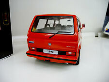 1:18 KK-Scale VW Bulli T3 Multivan Limited Last Edition rot 1992 NEU NEW