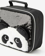 JUSTICE Sparkle Critter Panda Lunch Tote BPA Free Back To School!!!