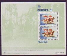 Portugal-Azoren postfrisch  Europa 1981   MiNr. Block 2