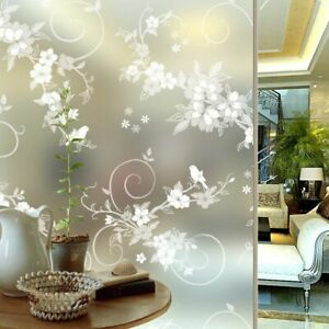 Decorative Vinyl Adhesive Film Window Privacy Glass Film With Glue Sticker Tools
