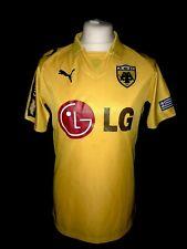 AEK Athens 2008-09 Home Vintage Football Shirt - Very Good Condition