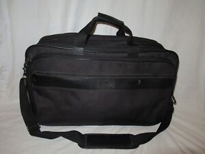 "Hartmann Ballistic Nylon Expandable Duffle Bag Black 22"" Carry on overnight gym"