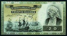 NIEDERLANDE. 20 Gulden 1941. P. 54.