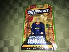 "Superman DC Universe Justice League Unlimited Fan Collection 4"" Figure IP"