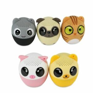 Portable Wireless Bluetooth Speaker Animal Sound Stereo Sub Woofer Music Player