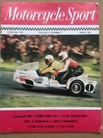 Motorcycle Sport Magazine - February 1976 - Kawasaki 900, Matchless And AJS