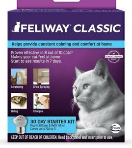 FELIWAY CLASSIC 30 DAY DIFFUSER KIT FOR CATS