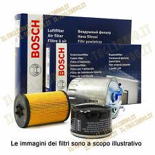 Kit 4 filtri per tagliando Ford fiesta 6 VI 1.5 TDCI 55 kw 75 cv Della Bosch
