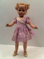 "17"" R & B Doll Arranbee Nancy 1940s Vintage Composition and Vintage Dress"