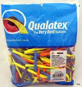 Qualatex Balloons Tropical Assortment Animal Twist 100 ct bag 260 size Balloon