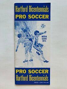 1975 Hartford Bicentennials (NASL) media guide.