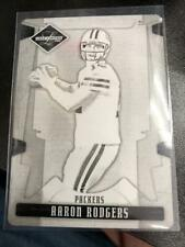 Aaron Rodgers 2008 Leaf Limited Black Printing Plate #1/1 Green Bay Packers