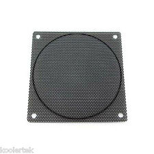 120mm Black Steel Mesh Computer PC Case Fan Filter / Grill / Guard, Small Hole