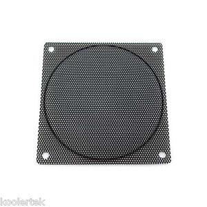 120mm Black Steel Computer PC Case Fan Filter / Grill / Guard, Small Hole