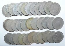MEXICO lot UN PESO vintage  large 30 COINS FREE SHIPPING wholesale