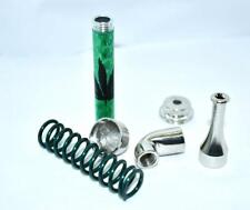 Aluminum Mini Metal Smoking Pipe Tobacco Herb Green w/Screw Cap FAST SHIP! E38