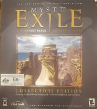 MYST III 3 EXILE COLLECTORS EDITION BOX SET PC CD-ROM GAMES CDROM RIVEN SEQUEL