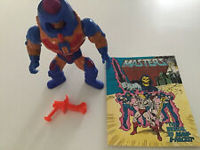 HE MAN MAN-E-FACES COMPLETE VINTAGE WITH BOOK