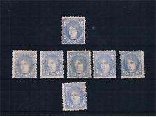España. Conjunto de 7 sellos nuevos nº 107*