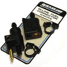 Quicksilver Fuel In-Line Connector Pair - Mercury - Mariner - 22-804787Q