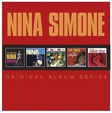 NINA SIMONE - ORIGINAL ALBUM SERIES 5 CD NEU