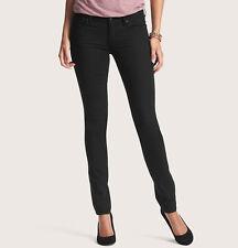 Ann Taylor LOFT Modern Skinny Jeans Pants in Black Size 24/00, 25/0, 25/0 Petite